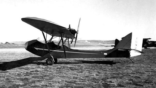 Curtiss-Wright CW-1 Junior (Archiv: Eberhard