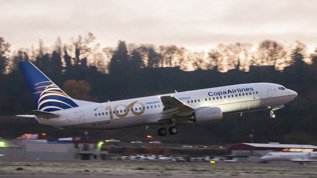 Copa Airlines 100th Boeing