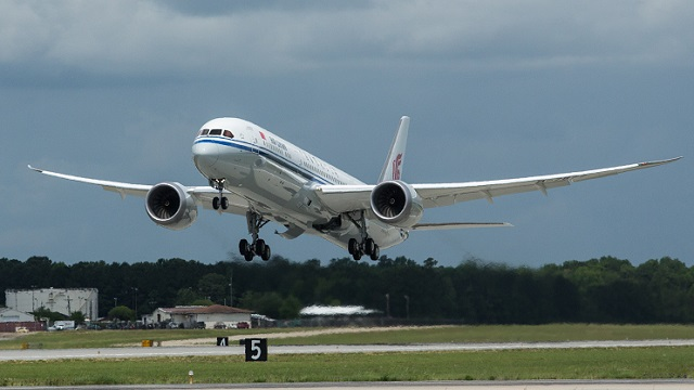 Air China first Boeing 787-9