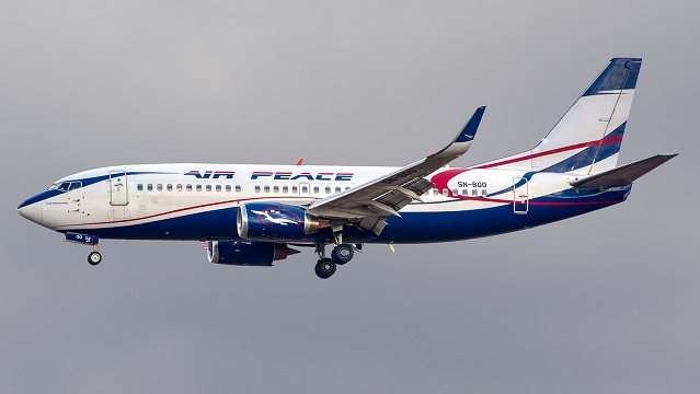 Air Peace Boeing 737