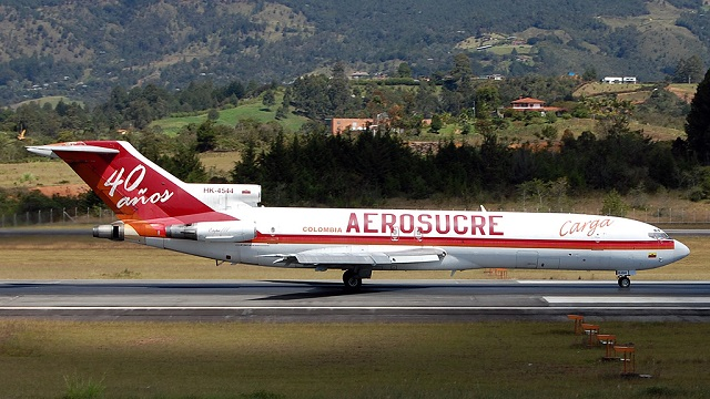 Boeing 727 Aerosucre Colombia