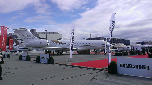 Bombardier Global 6000 EBACE 2016