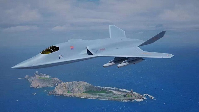 China New Bomber Design (Foto: Internet China