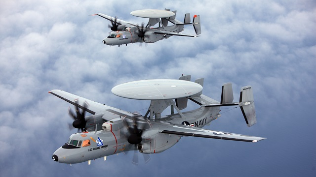 E-2D Advanced Hawkeye  (Foto: US Navy)