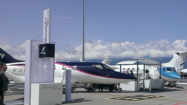 HondaJet Elite at EBACE