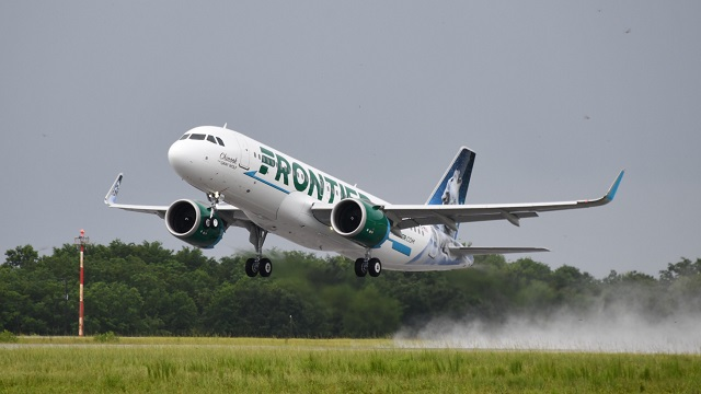 Airbus A320 Frontier Airlines