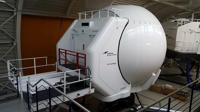 Helikopter Simulator Lufthansa Aviation Train