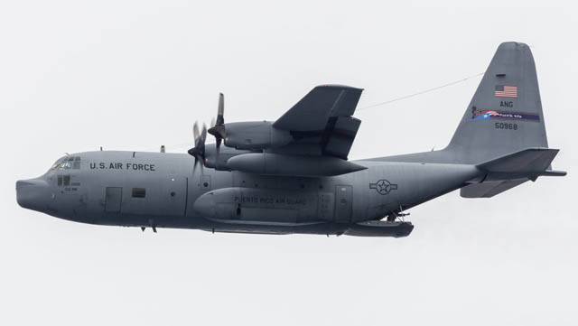 Hercules Puerto Rico Air National Guard