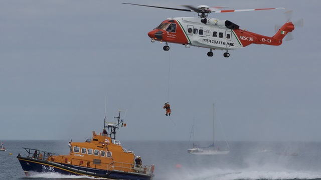 Irish Cost Guard Sikorsky S-92 (Foto: Miguel