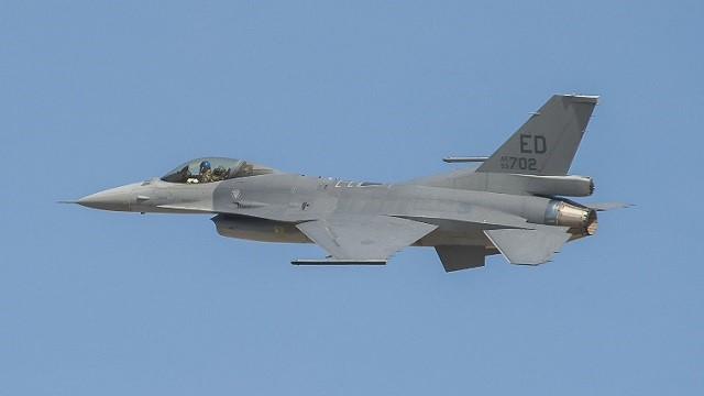 F-16V Viper first flight