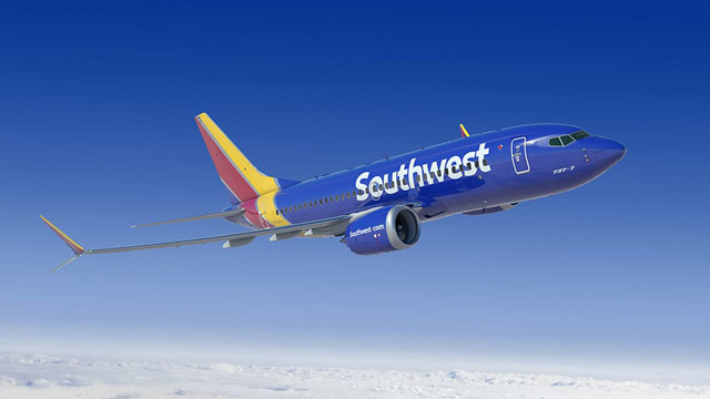 Southwest Airlines Boeing 737 MAX 7