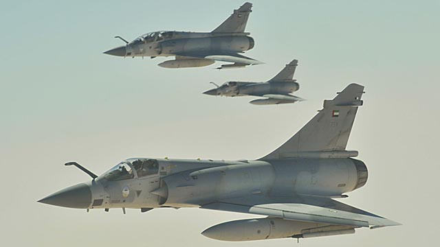 UAE Mirage 2000 Formation