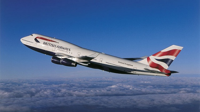 Boeing 747-400 British Airways