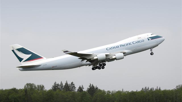 Cathay Pacific Boeing 747-400ERF