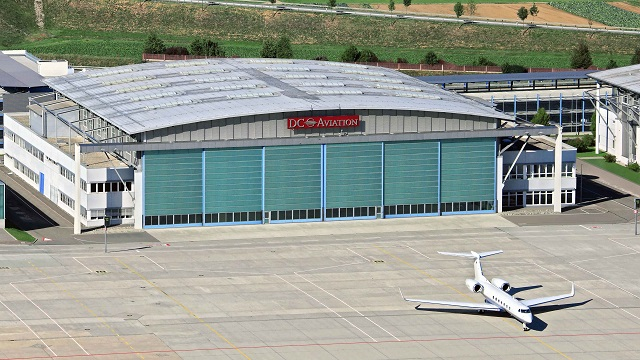 DC Aviation Hangar Stuttgart
