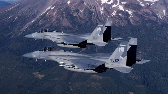 F-15A Eagle Formation